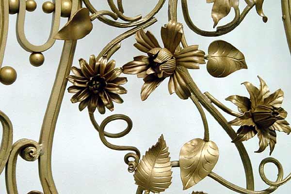 Restaurierung und Neuanfertigung von Kunstschmiedegeländern, Foto: Kroll & Reimer