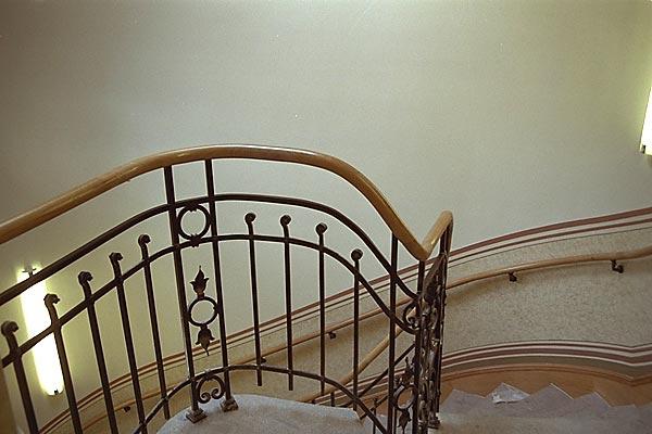 Detail Geländer, Foto: Kroll & Reimer