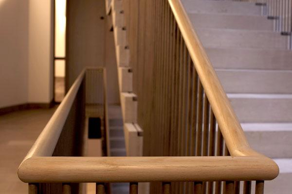 Treppengeländer, Foto: Christian Fittkau