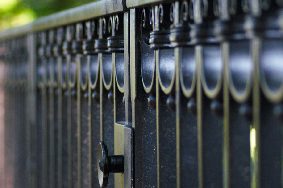 Detail Grabgitter, Foto: Christian Fittkau