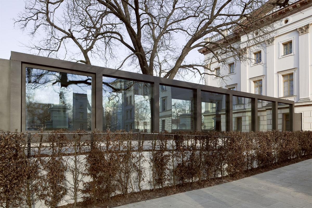 Gartenansicht Fassade, Foto: Schwarz