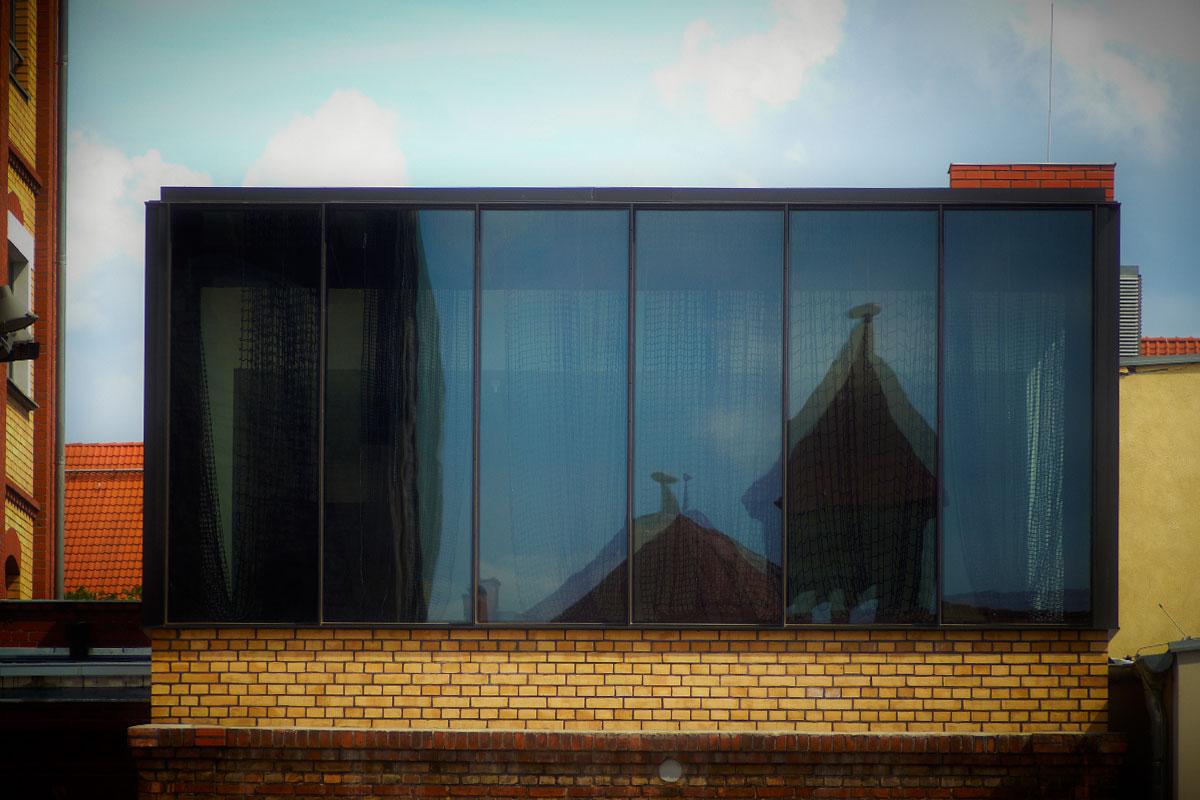 Stahlglasfassade, Foto: Christian Fittkau