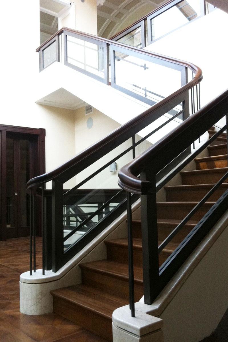 Gesamtansicht Treppe, Foto: Bertram Roy
